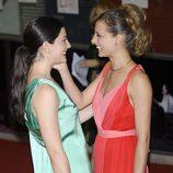 Bárbara Lennie y Michelle Jenner en los Premios de la Unión de Actores 2012