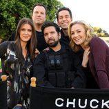Reparto principal de 'Chuck' en su quinta temporada