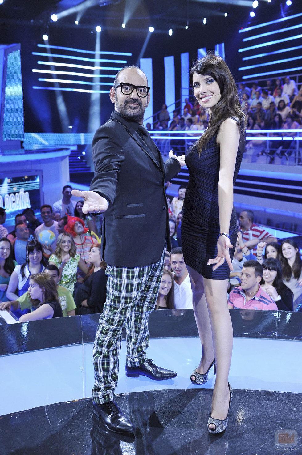 José Corbacho y Pilar Rubio, presentadores de 'Todo el mundo es bueno'