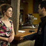 Fran Perea y Belén López hablan en el último episodio de 'Luna, el misterio de Calenda'