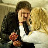 Sara anima a Raúl en el último episodio de 'Luna, el misterio de Calenda'