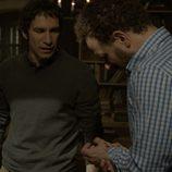 Fernando y Salva hablan durante el desenlace de 'Luna, el misterio de Calenda'