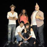 Los protagonistas de 'Dreamland', ficción musical de Telecinco para 2013