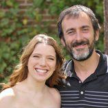 Diana Gómez y Miquel García Borda, actores de 'El secreto de Puente Viejo'