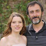 Los actores Diana Gómez y Miquel García Borda