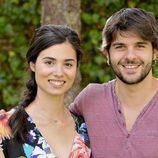 Dos de los nuevos actores de 'El secreto de Puente Viejo'