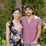 Loreto Mauleón y Jordi Coll posan