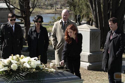 La protagonista de 'Imborrable' en una escena de la serie