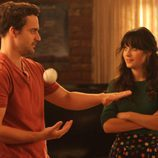 Jess Day y Nick Miller, personajes de 'New Girl'