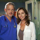 Jordi Rebellón y Ana Belén estarán juntos en el capítulo 290 de 'Hospital Central'