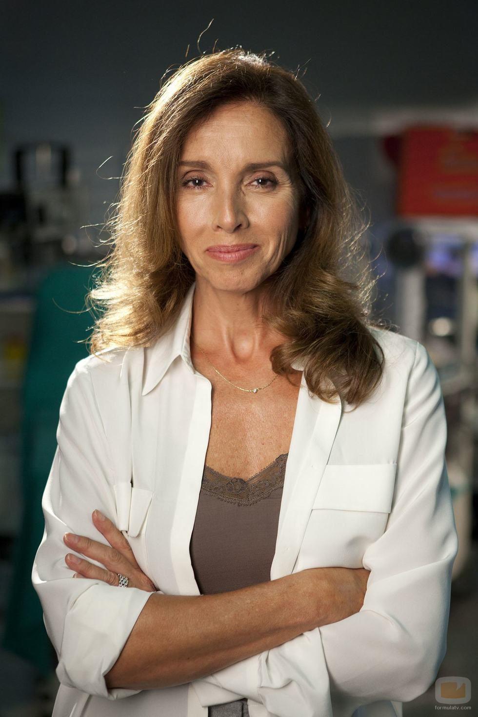 Foto promocional de Ana Belén para la serie 'Hospital Central'