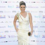 Carme Chaparro en los Premios Iris 2012