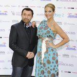 José Manuel Parada y Beatriz Trapote en los Premios Iris 2012