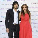 David Janer y Miryam Gallego en los Premios Iris 2012