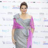 Ángela Carrasco en los Premios Iris 2012