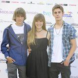 Guillermo Campra, Carla Campra y Patrick Criado en los Iris 2012