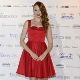 Cristina Castaño en los Premios Iris 2012