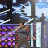 Jaima Cantizano bailando en 'Dando la nota'