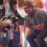 Florentino Fernández bromea ante las cámaras de 'Dando la nota'