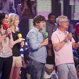 Ana Milán, Anna Simón, Josema Yuste y Miki Nadal en 'Dando la nota'