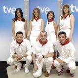 El equipo de TVE que cubrirá los Sanfermines 2012