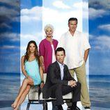 Los cuatro protagonistas de la quinta temporada de 'Último aviso'