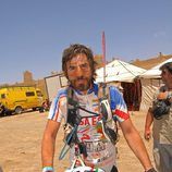 Santi Millán en la Milenio Titan Desert