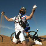 Santi Millán en el desierto del Sahara