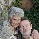 Pilar Bardem y Pablo Carbonnel en el rodaje de 'Hospital Central'