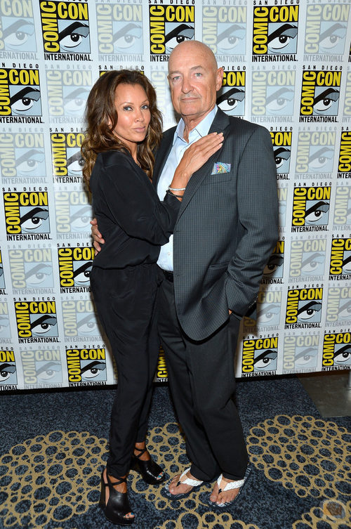 Vanessa Williams y Terry O'Quinn de '666 Park Avenue' en la Comic-Con 2012