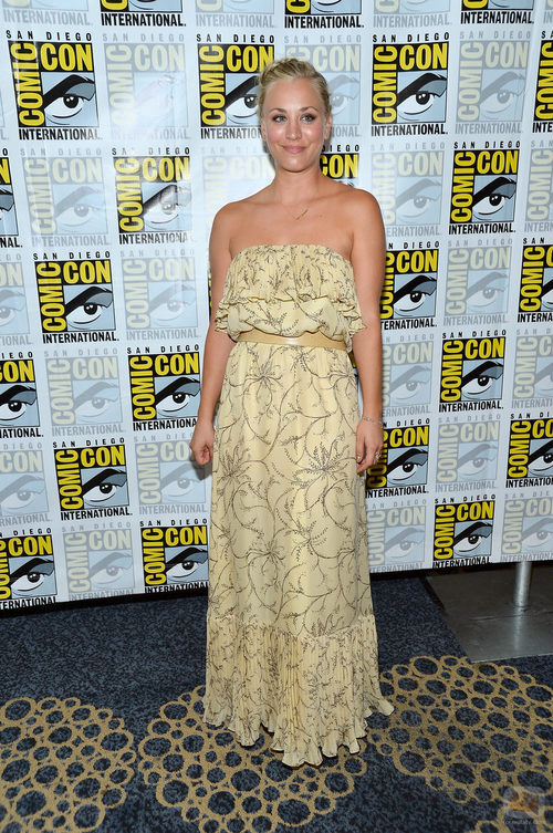 Kaley Cuoco de 'The Big Bang Theory' en la Comic-Con 2012