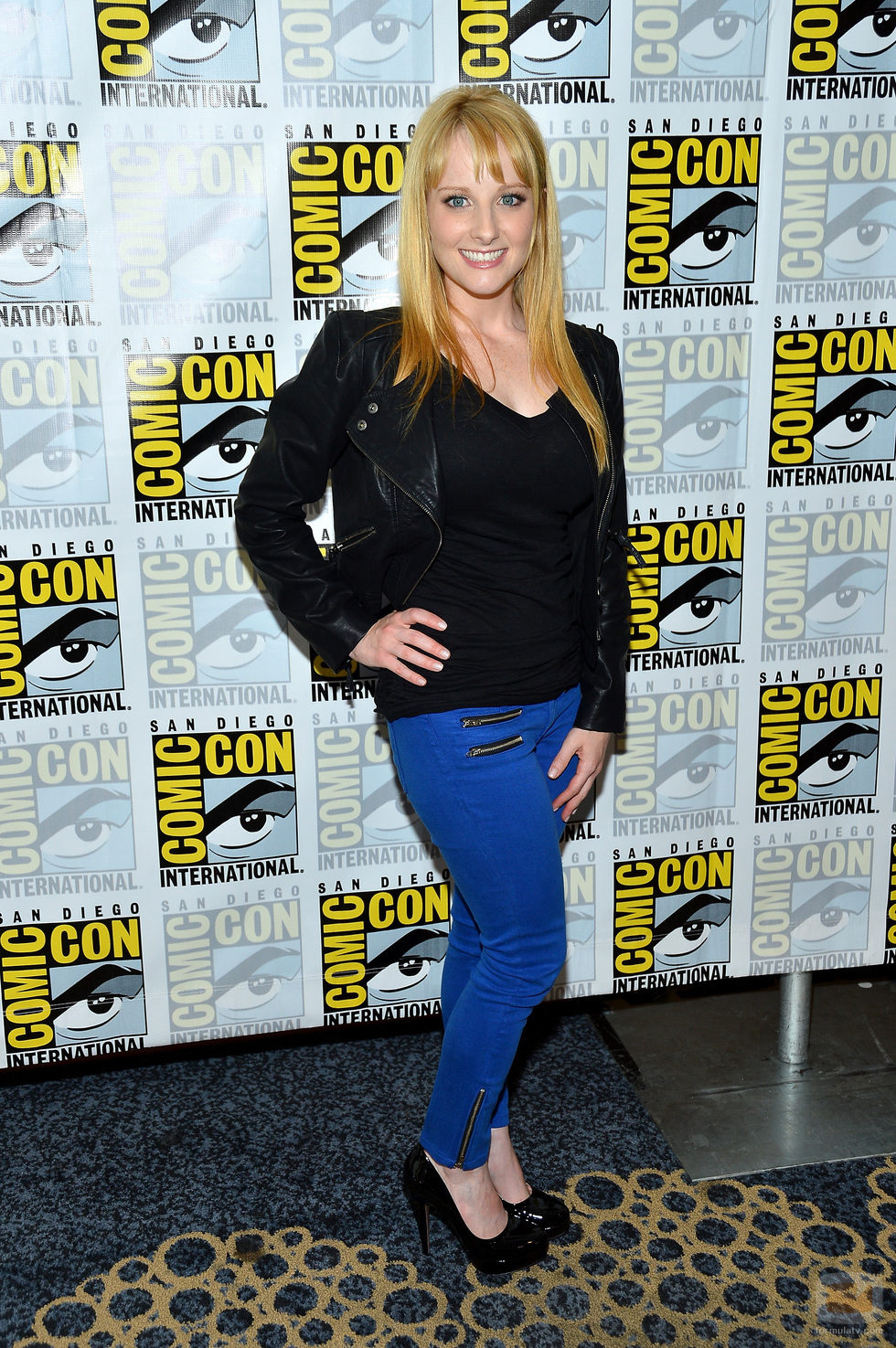 Melissa Rauch de 'The Big Bang Theory' en la Comic-Con 2012