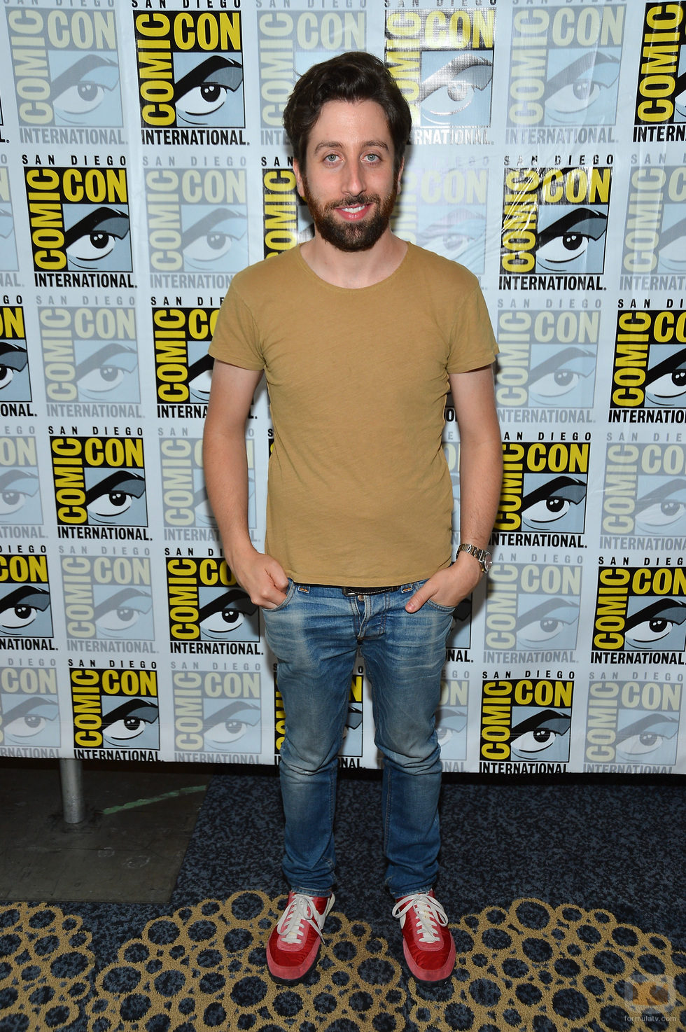 Simon Helberg de 'The Big Bang Theory' en la Comic-Con 2012
