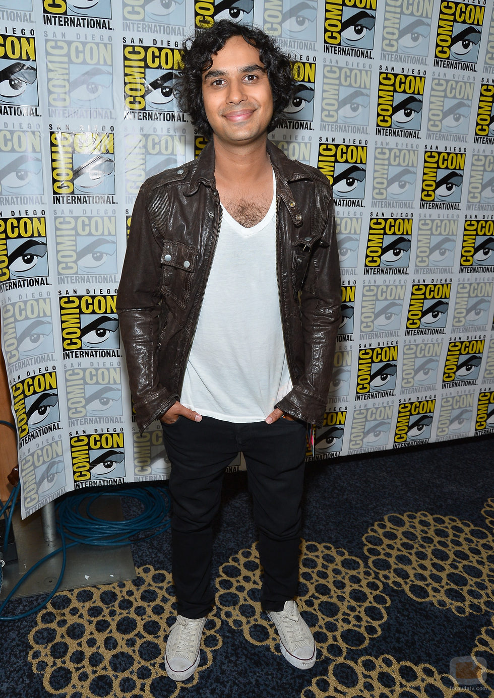 Kunal Nayyar de 'The Big Bang Theory' en la Comic-Con 2012