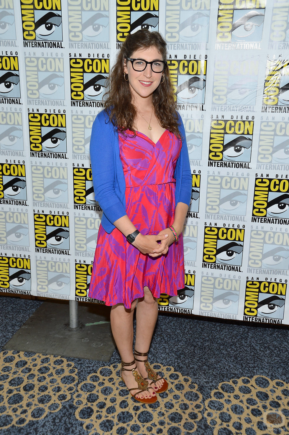 Mayim Bialik de 'The Big Bang Theory' en la Comic-Con 2012