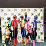 Los Power Rangers en la Comic-Con 2012
