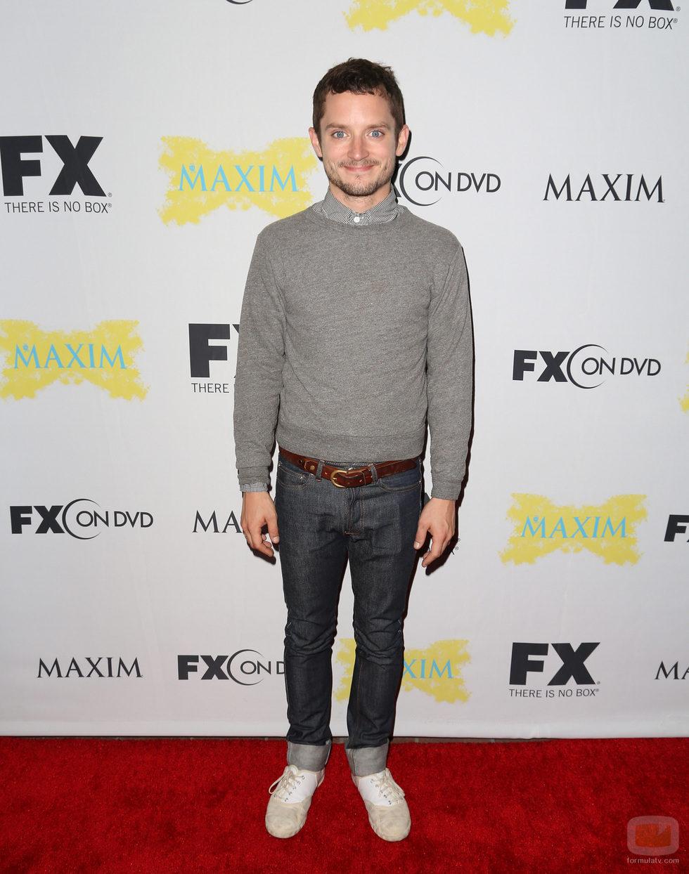 Elijah Wood de 'Wilfred' en la Comic-Con 2012