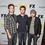 Los chicos de 'It's Always Sunny in Philadelphia' en la Comic-Con 2012