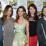 El reparto de 'Nikita' en la Comic-Con 2012