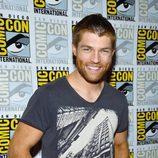 Liam McIntyre de 'Spartacus' en la Comic-Con 2012