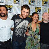 El reparto de 'Spartacus' en la Comic-Con 2012
