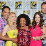 El reparto de 'Community' en la Comic-Con 2012