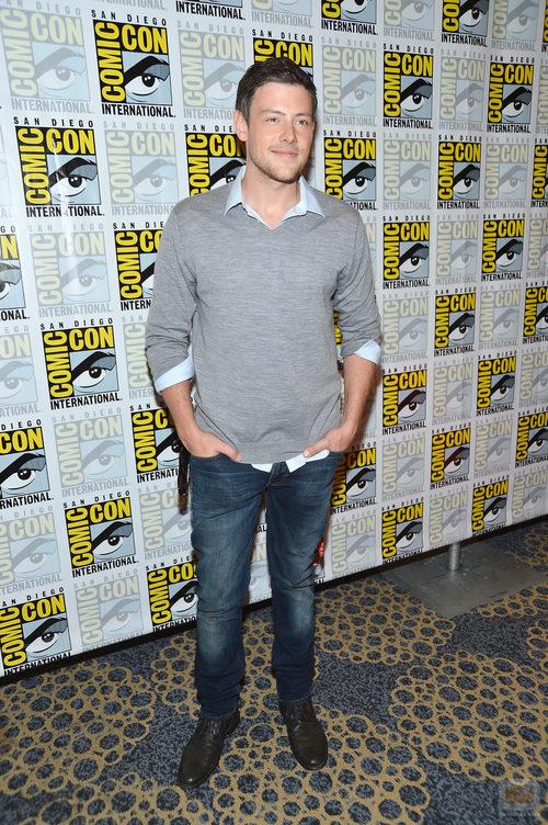 Cory Monteith de 'Glee' en la Comic-Con 2012