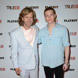 William H. Macy y Cameron Monaghan de 'Shameless' en la Comic-Con 2012