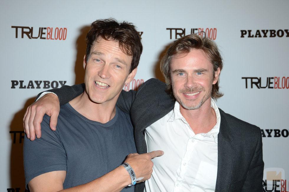 Stephen Moyer y Sam Trammell en la Comic-Con 2012