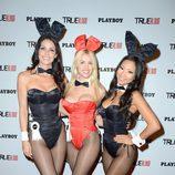 Las conejitas Playboy en la fiesta 'True Blood' de la Comic-Con 2012