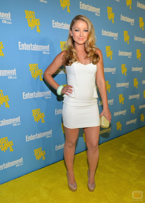 Elisabeth Harnois de 'CSI' en la Comic-Con 2012