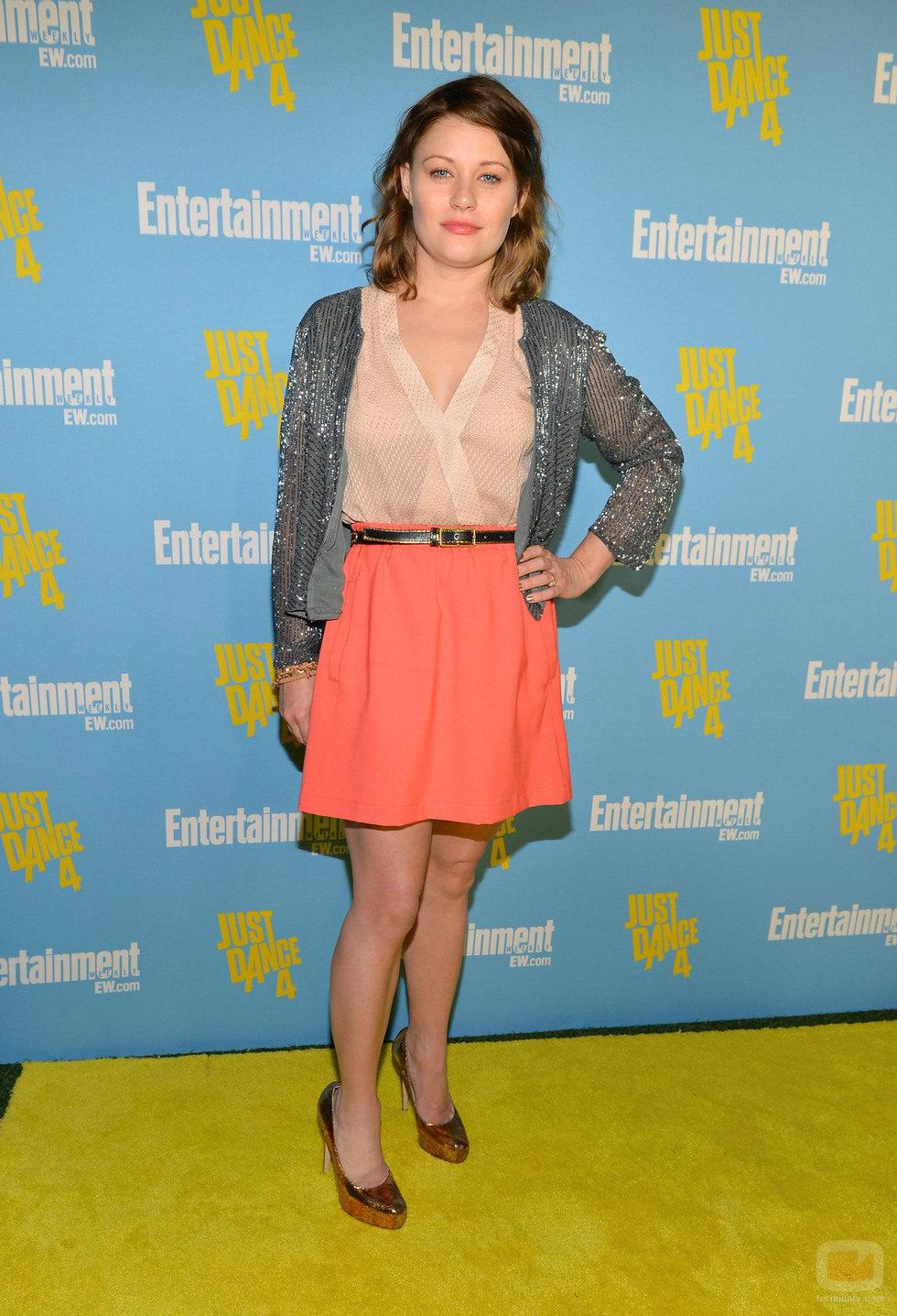 Emilie de Ravin de 'Once Upon a Time' en la Comic-Con 2012