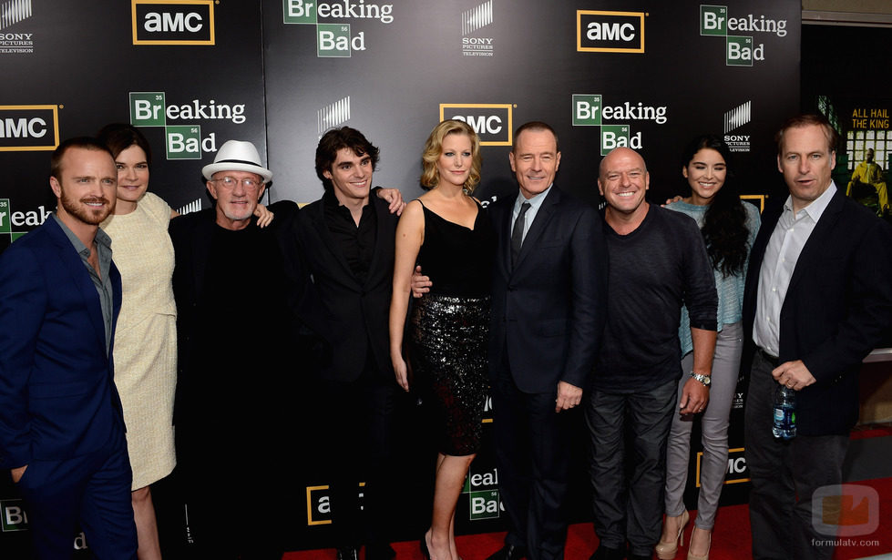 El reparto de 'Breaking Bad' en la Comic-Con 2012