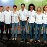 Equipo de presentadores de RTVE para los Juegos Olímpicos de Londres 2012